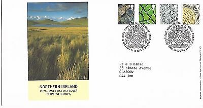 GB 2003 Northern Ireland Definitives FDC Bureau cancel