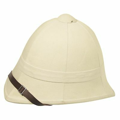 pith helmet british sand one size  new