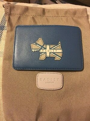 New Radley Travel Card Holder. Pageant Design With Protective Bag