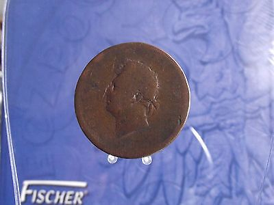 0007P Great Britain George Iv Penny 1825-1827