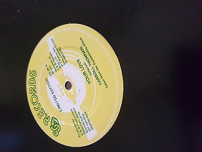 Carroll Thompson - Your love - SG Records - 12""