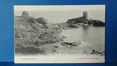 Jersey Channel Islands Postcard Noirmont Point by Albert Smith Used 1904