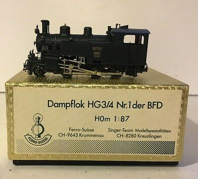 HOm Ferro Suisse BFD HG3/4 Steam Locomotive