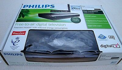 PHILIPS DIGITAL TERRESTRIAL FREEVIEW RECEIVER DTR 230 by PACE WITH MANUAL/REMOTE