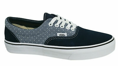 Vans Off The Wall MLX Blue Lace Up Unisex Canvas Plimsolls Trainers Y6XG1T B39B
