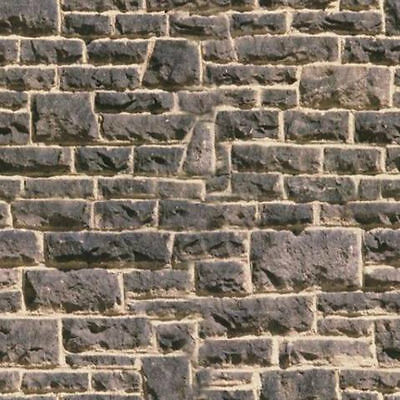 - 6 SHEETS SELF ADHESIVE PAPER BRICK wall 21x29cm 1 Gauge 1/32 CODE 6U8v8