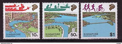 Singapore set of stamps to celebrate River Conservation.