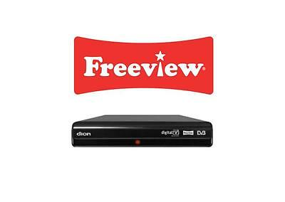 Low Energy Freeview Box Digital Tv Set Top Box Receiver Twin Scart 7 Day Epg