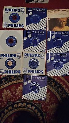 Job lot of 10 Dusty Springfield Singles most in Ex condition Phillips UK