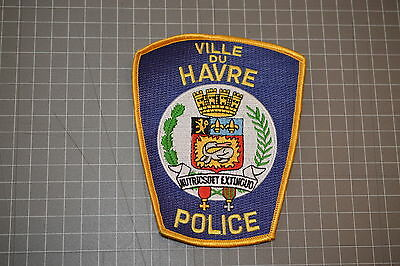 Ville Du Havre Montana Police Department Patch (B17-4)
