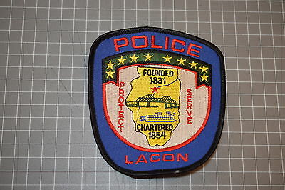 Lacon Indiana Police Department Patch (B17-4)