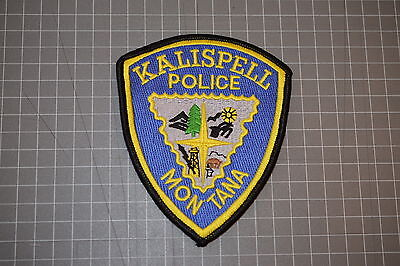 Kalispell Montana Police Department Patch (B17-4)