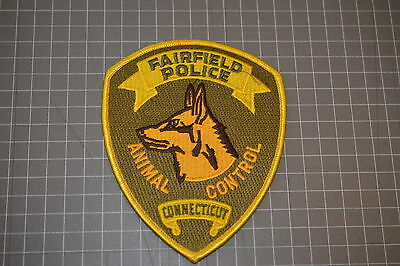 Fairfield Connecticut Police Department Animal Control Patch (B17-4)
