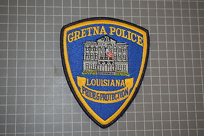 Gretna Police Louisiana Police Department Patch (T3)