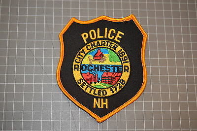 Rochester New Hampshire Police Department Patch (B17-4)