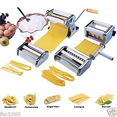 Vivo Pasta Machine Lasagne Ravioli Multi Maker Stainless Steel