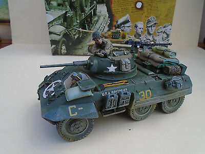 KING AND COUNTRY ,,M8 GREYHOUND,, 37mmGun  (DD38 )