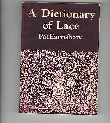 A Dictionary Of Lace  Book