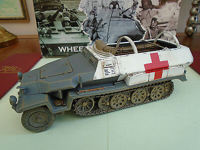 KING AND COUNTRY WW2 Sd. Kfz. 251 Armoured Ambulance WH05 WH005