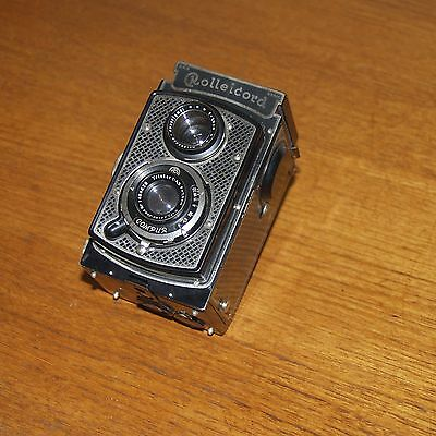 ROLLEICORD I type 1 art deco CAMERA TLR Carl Zeiss Lens early model 1933 GERMANY