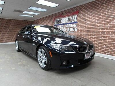 2014 BMW 5-Series Base Sedan 4-Door 2014 BMW 535i XDRIVE M SPORT PREMIUM FACTORY WARRANTY