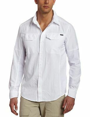 Columbia - Silver Ridge [AM7453] [Blanc] [FR : L (Taille Fabricant : L)] NEUF