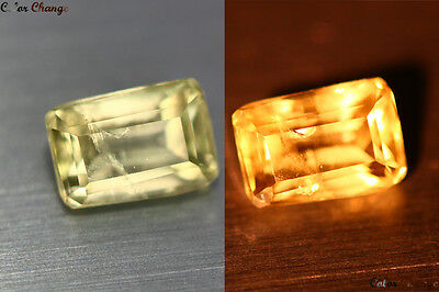 1.525 Ct Unique Rare Turkey 100% Natural Color Change Diaspore Rare Gem !!!