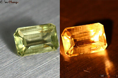 1.400 Ct Unique Rare Turkey 100% Natural Color Change Diaspore Rare Gem !!!