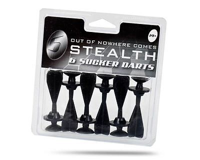 Stealth Toy Crossbow Darts (6 Pack)