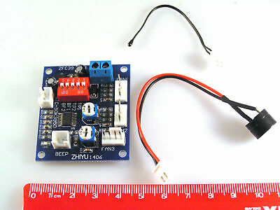 Speed Controller for 4 Wire Fan with Temperature Sensor and Alarm OM0286A