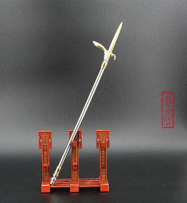 Dynasty Warriors chinese sword D3 Monk weapon Metal spear 26CM 长戈 DAGGER