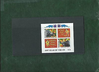 Philippines 1997 Chinese Year of the Ox minisheet unmounted mint MNH