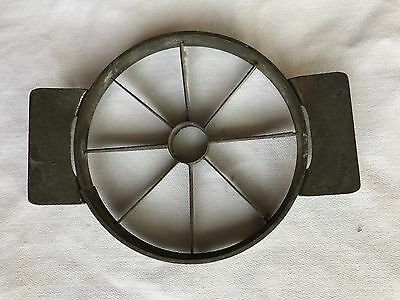 Antique Vtg German Heavy Aluminum Cast Iron Apple Pie Corer Slicer Cutter