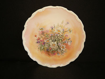 Royal Albert Bone China Collector Plate - Shakespeares Flowers - Russet Mantle