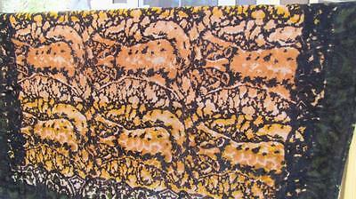 Antique Horse Hair Buggy Carriage Blanket Fox Pattern