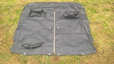 MG Midget tonneau cover excellent condition