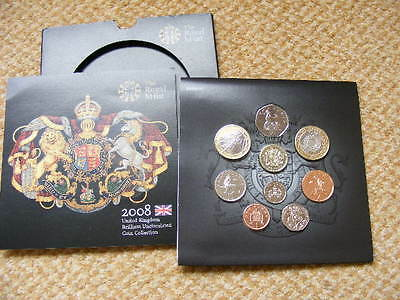 2008 Royal Mint Uncirculated Coin Set