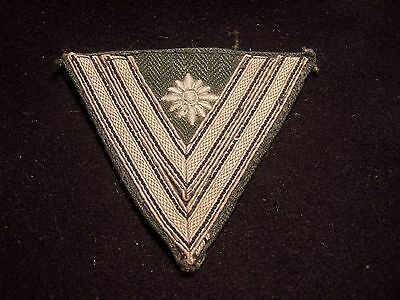 Wwii Original German Army Sleeve Chveron