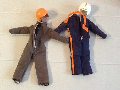 Vintage Action Man Pilot Outfit And Accessories X2