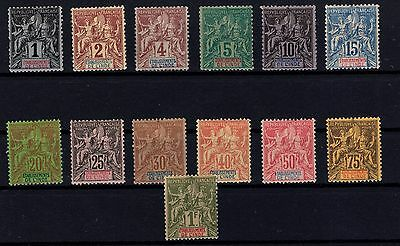 P28810/ Inde Fr / French India – Maury # 1 / 13 Neufs / Mint Mh 170 €