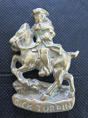 Vintage Brass Dick Turpin Highwayman Door Knocker