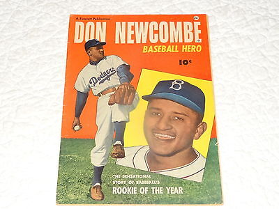 Baseball Hero Don Newcombe Of Brooklyn Dodgers