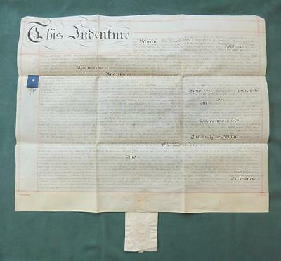 1855 INDENTURE - RUMBOLDSWHYKE, DEAN & CHAPTER of CHICHESTER, SEAL_Lease of Land