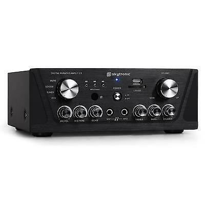[Occasion] Ampli Hifi Recepteur Tuner Radio Stereo Home Cinema Skytronic Mp3 Usb