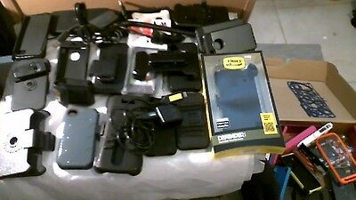LOT Of Phone Covers, Cases, OTTER BOX, Store closing. aprox. 35 + box Aprox 20..