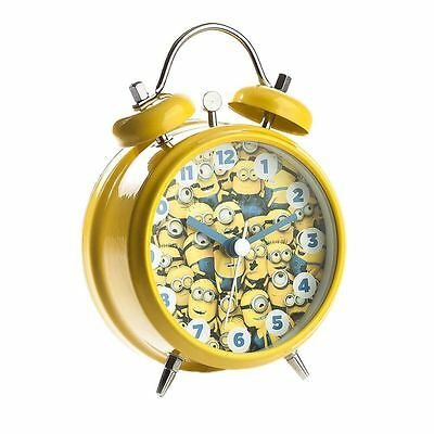 Officially Licensed Minions Mini Twin Bell Alarm Clock