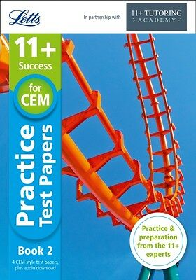 11+ Practice Test Papers Book 2, inc. Audio Download: for the CEM tests (Letts .