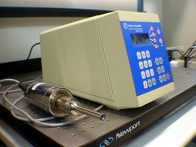 Fischer Scientific Model 500 Ultrasonic Sonic Dismembrator + 102C Head/Probe