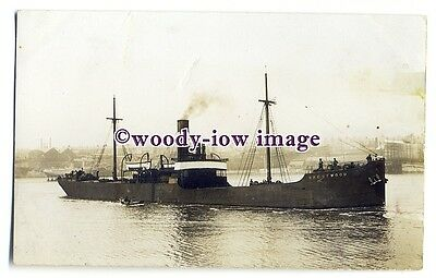 cb1002 - W Cory & Son Coaster - Brentwood , built 1904 - postcard