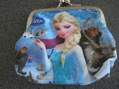 Frozen Disney Girls Clip Purse Size Pink